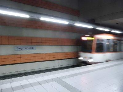 Bielefeld Siegfriedplatz U-Bahn Haltestelle