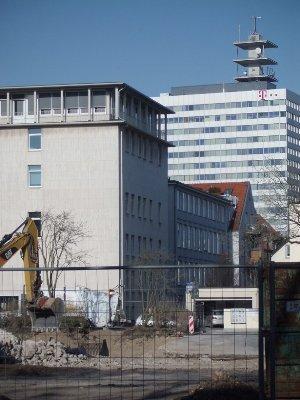 Baustelle Technisches Rathaus
