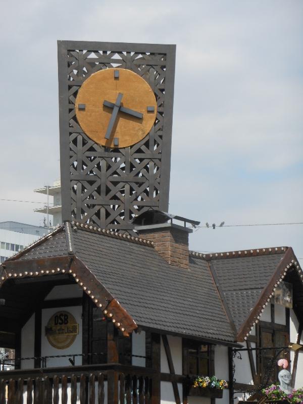 Jahnplatz Alcina Uhr
