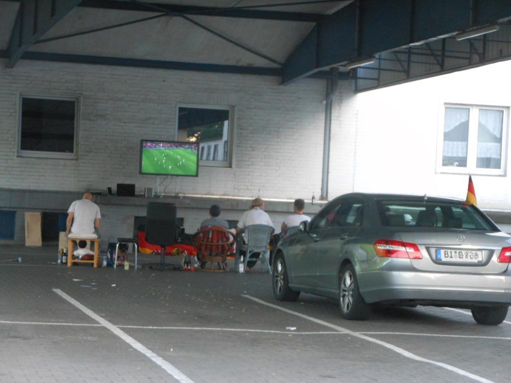 Public Viewing Fußball EM 2012