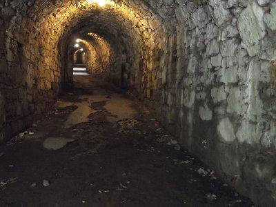 Tunnel unter der Sparrenburg