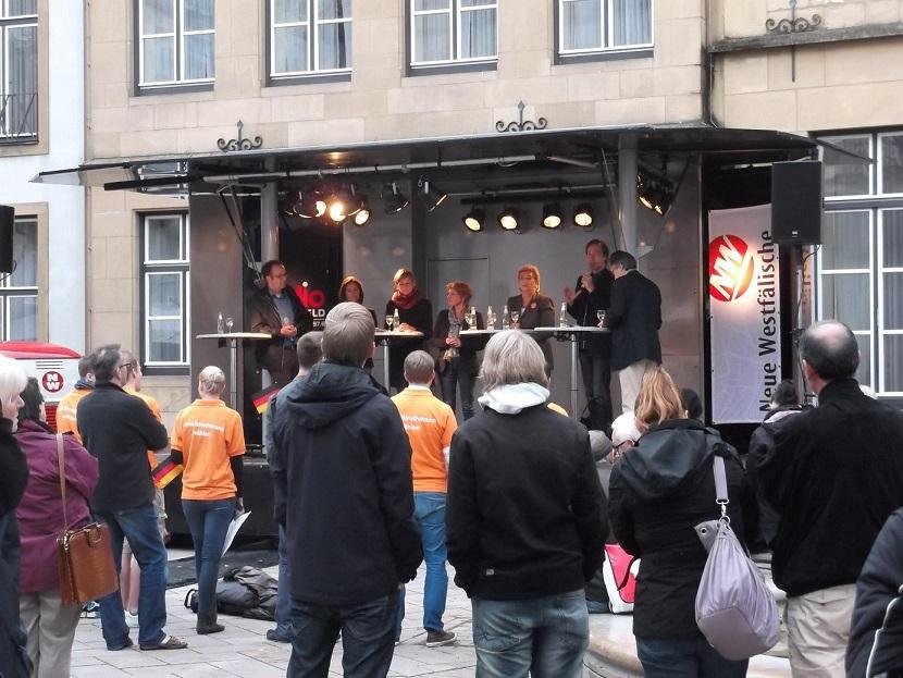 Wahlkampf Bielefeld