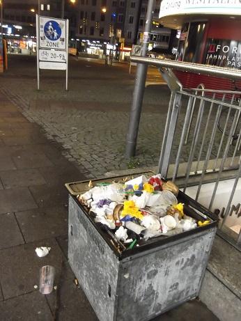 Mülleimer Jahnplatz