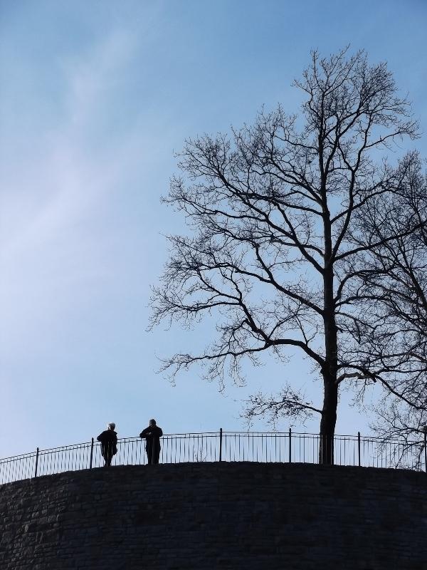 Valentinstag auf der Sparrenburg