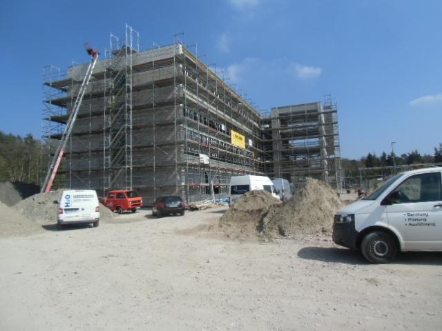 Baustelle Stadtring Brackwede